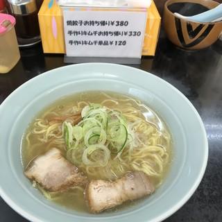 ローダンラーメン - 料理写真:醤油ラーメン 580円