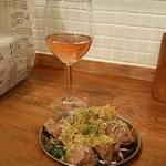 Como食堂 - ボルドーのロゼ
