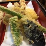 昇月庵 - 天ぷらは美味しいですよ。