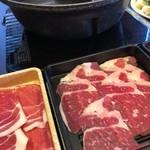 しゃぶ葉 - 牛肉