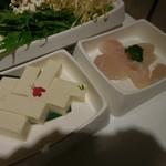海底撈火鍋 - 豆腐、白身魚