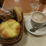 アンリー・ファルマンベーカリー - 料理写真:パン、ココアL