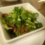 すたんでぃんぐばる O-MAME - 牛肉と玉ネギの旨煮