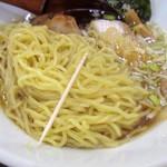 喜喜屋 - 麺の細さ