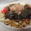 しま田 - 料理写真:モダン焼き、豚玉。