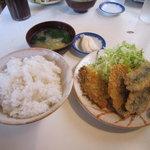 食堂 いとう - 魚のフライ定食 680円