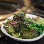 SATOブリアン - 2018.3 白胡麻と海苔のサラダ
