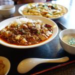 四川名菜 天心 - 料理写真:四川麻婆丼(\950税込み)