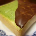 大友パン店 - 料理写真:新作、抹茶/チョコでコーティングされたクリームボックス