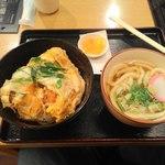 手打ちうどん DAIKI - カキフライ丼