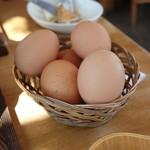 83052608 - 卵はお代わり自由