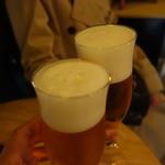 チカバル - 生ビール(500円)