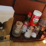 レストラン泉屋 - 粉チーズは雪印