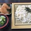 松家うどん - 料理写真:ざるうどん=450円 いなり=140円