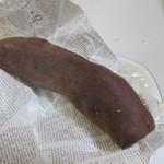 蜜家 -  紅あずま。  焼き芋を包んでくれる包装紙もお洒落なんでちょっとしたお土産にも良いかも。