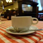 トラットリア デル パチョッコーネ - 最後はコーヒー