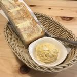 コメダ珈琲店 - モーニングB  (厚切りバタートースト、ゆで卵のペースト) ¥0