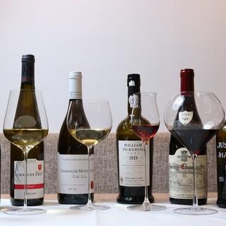 本格イタリアンとソムリエ厳選ワインのマリアージュ