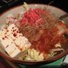 もんじゃお好み焼呑具里 - 料理写真:海鮮チゲもんじゃ(焼く前)