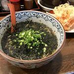 鐘庵 - 料理写真:のりそば 桜海老かき揚げ