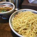 麺鮮醤油房 周月 - つけそば 大盛〜♪( ´▽`)