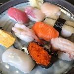 みどり寿司 - 料理写真:にぎりいっぱいセット(ランチ)
