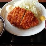 名代 千代勝 - 三元豚とんかつ定食
