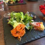 ピッツェリア ペル トゥッティ - ランチの前菜盛り合わせ ランチめっちゃ安い