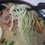 ら~麺処 豪屋 - ゴーヤの麺