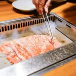 焼肉 ジャンボ - 料理写真:野原焼き
