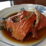 魚料理 ホノルル食堂 - 金目鯛の煮付け 単品