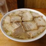 坂内食堂 - 肉そば950円