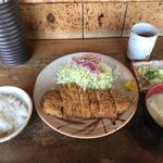とんかつ 野州 - 料理写真:納豆とんかつ定食