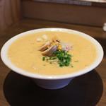 麺屋はやぶさ - オマール海老湯 大盛 + 味玉☆