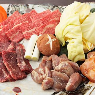 【熟成ヒレ肉】や【鹿児島県産あご肉】等◎こだわりお肉を堪能!