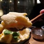 天ぷらスタンド KITSUNE - たまごふわふわ480円