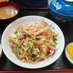 83081145 - 野菜炒め定食