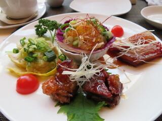 施家菜 - 前菜4種盛り