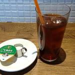 Italian kitchen VANSAN - Italian Kitchen VANSAN 西葛西店 Holiday Lunch に付く2杯のドリンクはアイスティー1杯だけ選んで