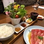 松庵 韓菜房 - ミニサンパ御膳