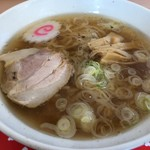 つどい亭 - 料理写真:さのらーめん 500円。