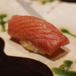 神楽坂 鮨 りん - 鮪中トロ