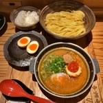 83084730 - めんたい煮こみつけ麺セット+半熟煮たまご