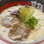 東京発祥豚骨ラーメン 哲麺縁 - 4月からの新商品、季節限定「牛タンラーメン」です。「牛タン丼」も始まります。