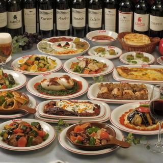 トルコ人シェフによる、本場のトルコ料理を銀座で堪能