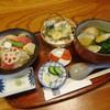 さぬきや - 料理写真:蛤なの花うどん+海鮮ちらし鮨+たらの芽天