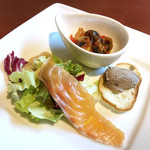 Koume - ランチの前菜