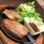 俺のフレンチ・イタリアン OMORI - 250g!鉄板牛ステーキ(999円+税)2018年3月