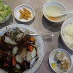 清香園 - 料理写真:黒酢酢豚定食