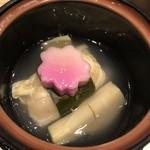 銀波 - 愛媛県産真鯛真丈東寺蒸し
